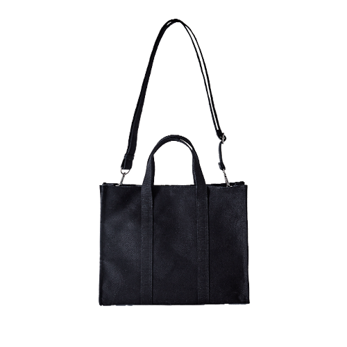 아이띵소 ithinkso,WORKS 2WAY BAG (Black)