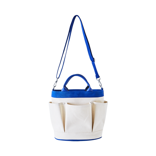 HOLLA BAG (Natural/Blue)