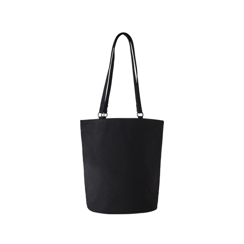 CANVAS OVAL BAG (Black)