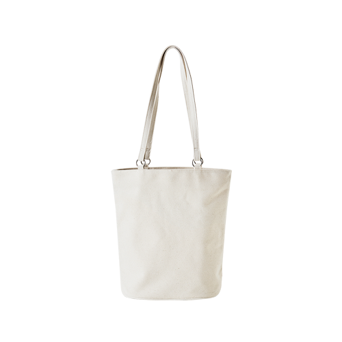 CANVAS OVAL BAG (Natural)