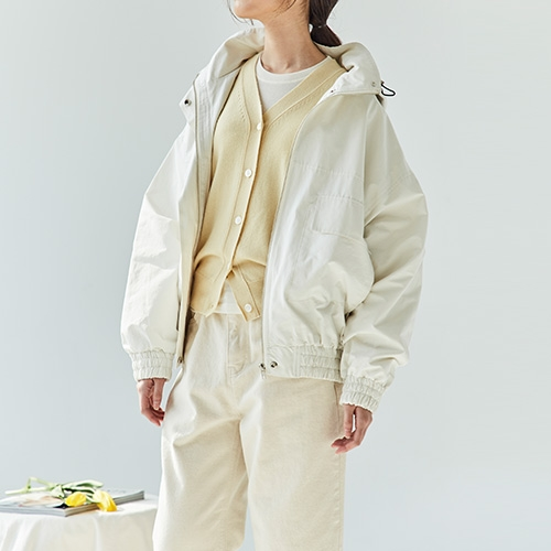 HOOD OUTER (Ivory)