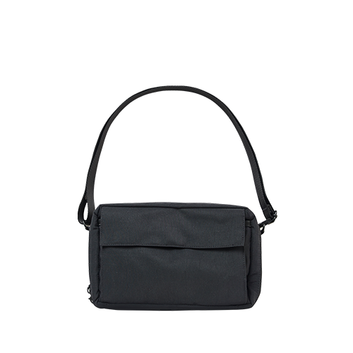 SQUARE WALLET BAG (Black)