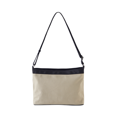 CANVAS HOBO CROSS (Beige)