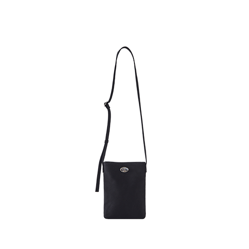 CANVAS MINI SIDE BAG (Black)