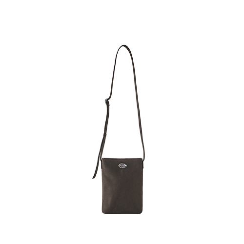 CANVAS MINI SIDE BAG (D/Brown)