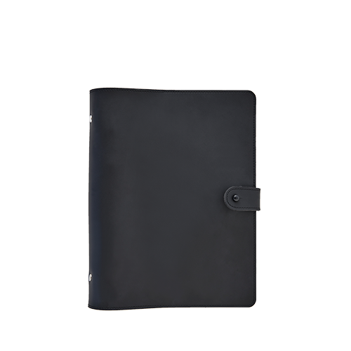 SOLID COVER (A5) (Black)
