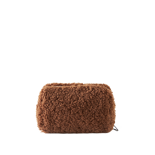 BELL MAKE-UP POUCH _ BOA (Brown)